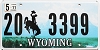2011 Wyoming # 3399, Washakie County