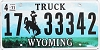 2011 Wyoming Truck #33342, Campbell County