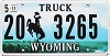 2011 Wyoming Truck # 3265, Washakie County