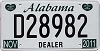 2011 Alabama Dealer # D28982