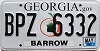 2011 Georgia Peach graphic # BPZ-6332