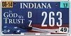 2011 Indiana In God We Trust graphic # 263