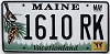 2011 Maine graphic # 1610 RK