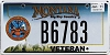 2011 Montana Army Veteran graphic # B6783