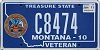 2011 Montana Army Veteran graphic # C8474