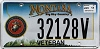 2011 Montana Navy Veteran graphic # 32128V