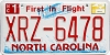 2011 North Carolina First In Flight # XRZ-6478