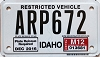2012 Idaho Snowmobile # ARP672