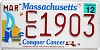2012 Massachusetts Conquer Cancer graphic # CC1903