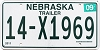 2012 Nebraska Trailer # X1969, Adams County