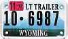 2012 Wyoming Light Trailer # 6987, Fremont County