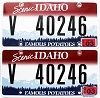 2012 Idaho Scenic graphic pair # 40246, Valley County