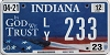 2012 Indiana In God We Trust graphic # 233