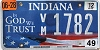 2012 Indiana In God We Trust graphic # VM1782
