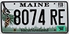 2012 Maine graphic # 8074 RE