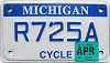 2012 Michigan Motorcycle # R725A