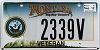 2012 Montana Navy Veteran graphic # 2339V