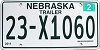2012 Nebraska Trailer # X1060, Boone County