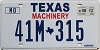 2012 Texas Machinery # 41M-315