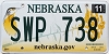 2013 Nebraska graphic #SWP-738