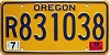 2013 Oregon Travel Trailer # 831038