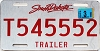 2013 South Dakota Trailer # T545552
