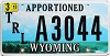 2013 Wyoming Apportioned Trailer # A3044