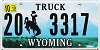 2013 Wyoming Truck # 3317, Washakie County