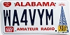 2013 Alabama Amateur Radio # WA4VYM