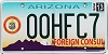 2013 Arizona Honorary Foreign Consul # 00HFC7, Type 2