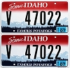 2013 Idaho Scenic graphic pair # 47022, Valley County