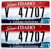 2013 Idaho Scenic graphic pair # 47707, Valley County