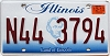 2013 Illinois Lincoln graphic # N44-3794