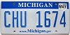 2013 Michigan graphic # CHU-1674