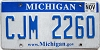2013 Michigan graphic # CJM-2260