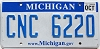 2013 Michigan graphic # CNC-6220