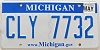 2013 Michigan graphic # CLY-7732