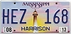 2013 Mississippi Lighthouse graphic # HEZ-168