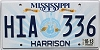 2013 Mississippi Guitar graphic # HIA-336