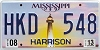 2013 Mississippi Lighthouse graphic # HKD-548