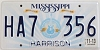 2013 Mississippi Guitar graphic # HA7-356