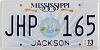 2013 Mississippi Guitar graphic # JHP-165