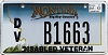 2013 Montana Disabled Veteran graphic # B1663