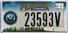 2013 Montana Navy Veteran graphic # 23593V