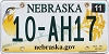 2013 Nebraska graphic # 10-AH17, Platte County