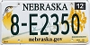 2013 Nebraska graphic # 8-E2350, Hall County