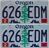 2013 Oregon graphic pair # 626-EDM