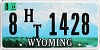 2014 Wyoming House Trailer #1428, Platte County