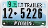 2014 Wyoming Light Trailer # 5226, Lincoln County