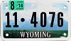 2014 Wyoming Motorcycle #4076, Park County